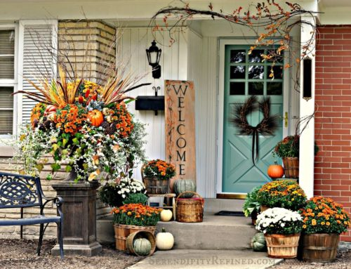 Create an Inviting Entry for Autumn